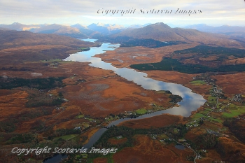 Scottish Scenery Loch shiel Acharacle Moss
