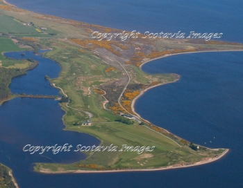 Aerial photography Scotland Skibo Golf links