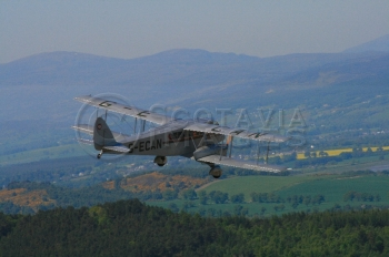 aerial photography scotland Dragon aircraft
