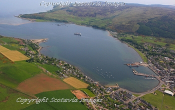 Aerial photography Scotland Scottish scenery Campbeltown Loch