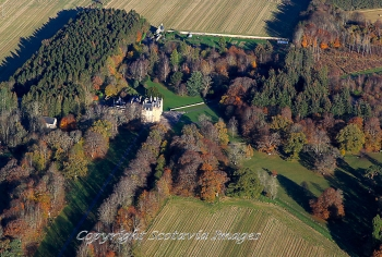 Scottish castle Brodie Forres Morayshire