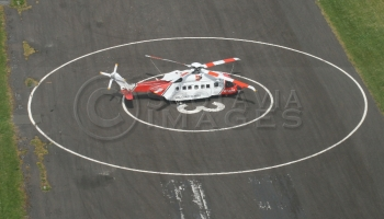 aerial photography scotland S92 helicopter