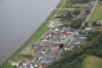 Aerial photography Scotland Ardersier