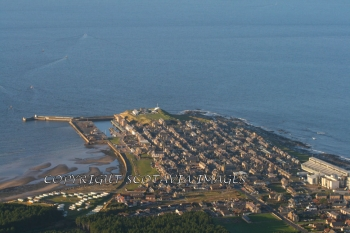 Aerial photography Scotland Scottish scenery Burghead