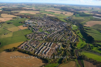 Aerial photography Scotland Turriff